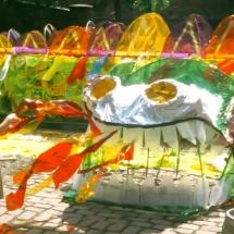 processional sculpture Carnival Arts workshops