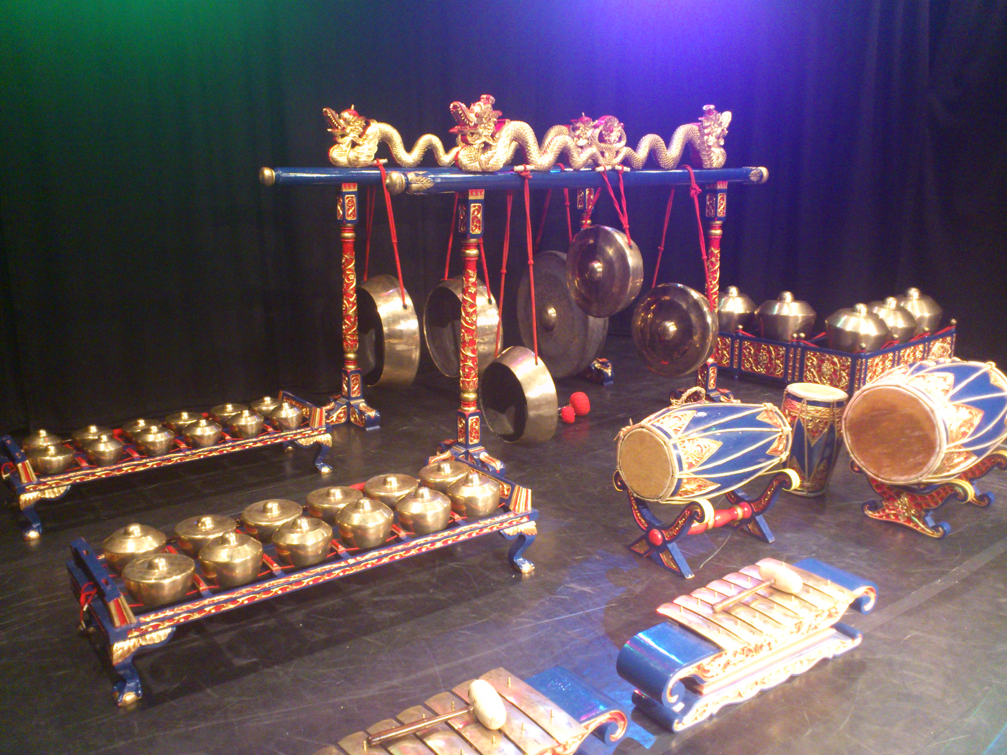 Gamelan music  drumming workshops,  Artbeat Projects